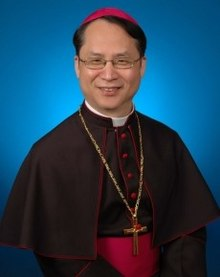 李克勉主教 Most Rev. John Baptist Lee Keh-mien