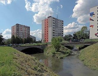 Nad jazerom - Image: Mosty panoramio (1)