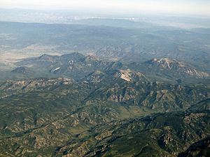 West Elk Mountains - 2013 aerial photo