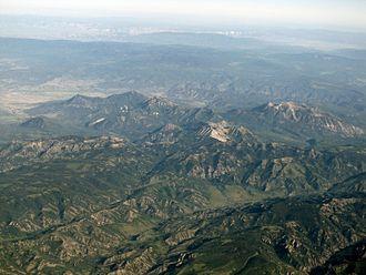 West Elk Mountains - 2013 aerial photo