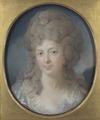 Mrs Ann Katarina Hedenberg, née Levin (Carl Gustav Pilo) - Nationalmuseum - 25224.tif
