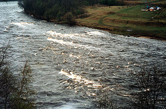 Borovichsky District - Rapids on the Msta River