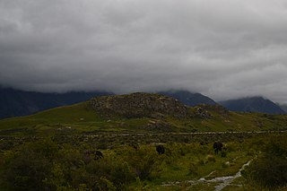 Mount Potts Sheep station in New Zealand