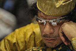 Muammar al-Gaddafi, 12th AU Summit, 090202-N-0506A-324