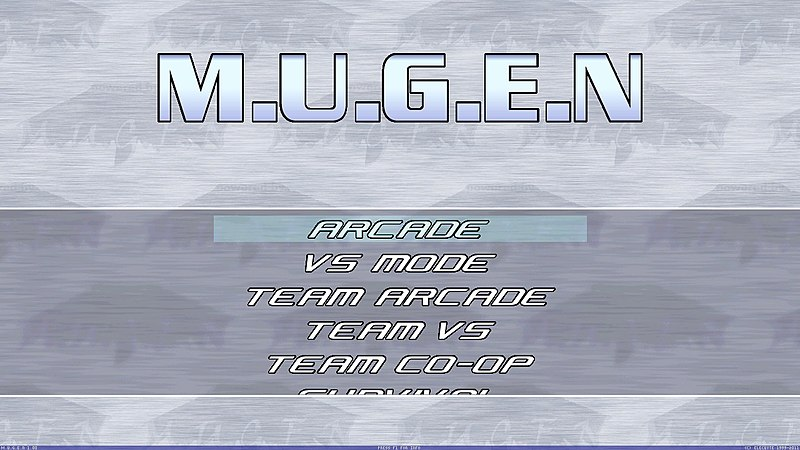 how to change mugen title screen