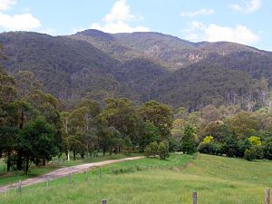 Biamanga National Park - Mumbulla Mountain from the Princes Highway, Australia