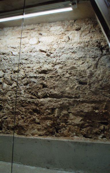 Fichier:Mur d'enceinte du forum de Lutèce.jpg