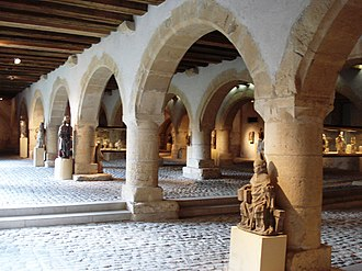 Museums of Metz - Statuary of the Chèvremont granary