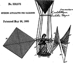 Myers Guiding Apparatus for balloons 1885.png