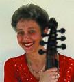 Myrna Herzog and Lewis viol, 1985.jpg