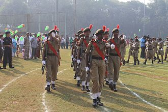 Indian Institute of Technology Bombay - NCC at IIT Bombay during Republic Day parade