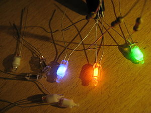 Neon lamp - Phosphor-colored neon lamps
