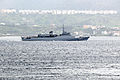 NE Brasil (U-27) transiting the Strait of Messina - 20 Oct. 2010.jpg