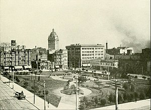 Union Square, San Francisco - Union Square in 1905