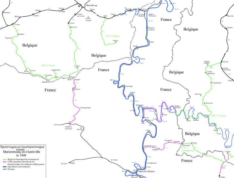RAVel L524 Gedinne - Vresse-sur-Semois - Alle-sur-Semois et Vresse-sur-Semois-Membre 785px-NMVB_Zuid_Namen