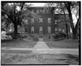 NORTH VIEW OF REAR ELEVATION - Berea College, Lincoln Hall, Berea College, Berea, Madison County, KY HABS KY,76-BER,1A-5.tif