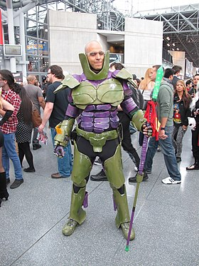 Cosplay de Lex Luthor au Comic Con en 2014
