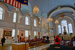 St. Paul's Chapel - Interior of St. Paul's Chapel