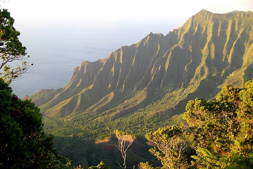 NaPali overlook Kalalau Valley