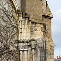Naissance d'une voûte inachevée du collatéral est de l'église Saint-Aubin en Notre-Dame-de-Bonne-Nouvelle, Rennes, France.jpg