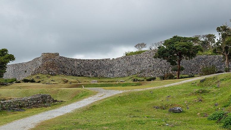 Nakijin Okinawa Japan Nakikjin-Castle-01
