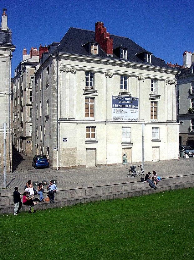 Monument historique à Nantes
