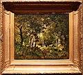 Narcisse-virgile diaz de la peña, paesaggio di foresta con persone, 1860 ca.jpg