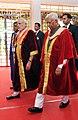 Narendra Modi arrives at the inauguration ceremony of the 103rd Session of Indian Science Congress, in Mysuru on January 03, 2016. The Governor of Karnataka, Shri Vajubhai Rudabhai Vala is also seen.jpg
