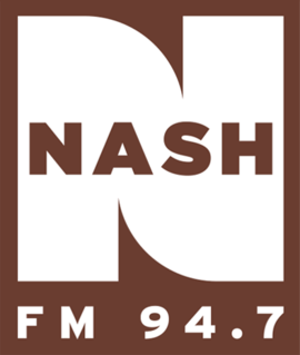 country music radio station in Newark, New Jersey, United States