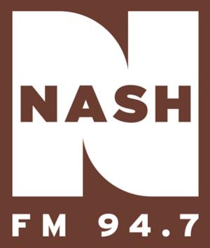 WNSH - Image: Nash FM 94.7 2013 logo