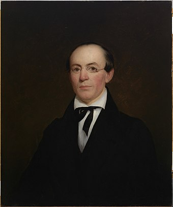 Portrait of Garrison by Nathaniel Jocelyn, 1833
