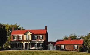 Peytonsville, Tennessee - The Nathaniel Smithson House is located in Peytonsville.