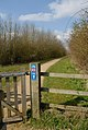National Cycle Network Route 63 Gate - geograph.org.uk - 661674.jpg