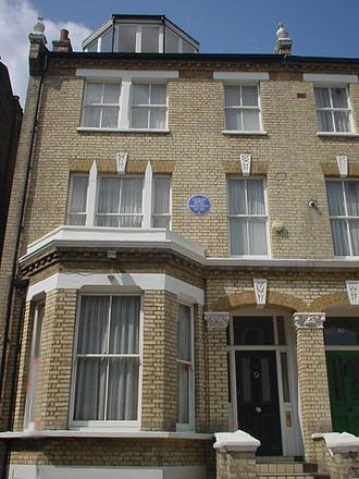 Natsume Sōseki - Natsume Sōseki's lodgings in Clapham, South London