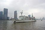Navire chinois Huangpu river Shanghai.JPG