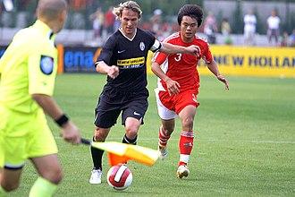 Pavel Nedvěd - Nedvěd playing for Juventus in training, July 2007
