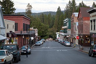 Nevada City Downtown Historic District - Image: Nevada City Downtown Historic District 149