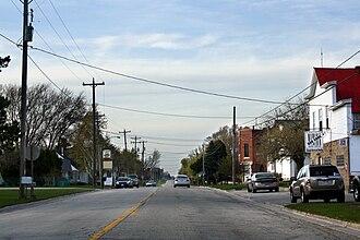New Franken, Wisconsin - Looking north at New Franken