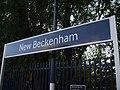 New Beckenham stn signage.JPG