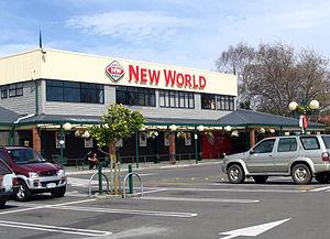 New World (supermarket) - Image: New World Wanganui