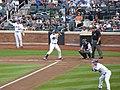 New York Mets rightfielder Carlos Beltran at bat at CitiField (5896636921).jpg