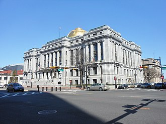 Newark City Hall - Full View of Newark City Hall