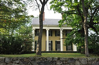 National Register of Historic Places listings in Newton, Massachusetts - Image: Newton MA Nathaniel Topliff Allen Homestead