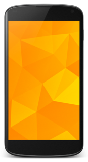 Nexus 4 Android smartphone by Google