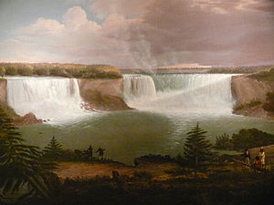 Alvan Fisher - A General View of the Falls of Niagara (1820), Smithsonian American Art Museum.