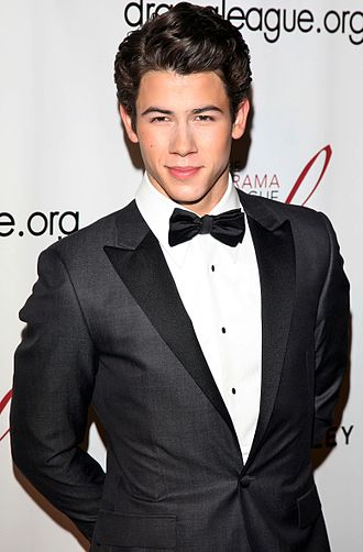 Nick Jonas - Jonas at the Drama League Benefit Gala in 2012.