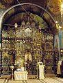 Nicolae Grigorescu - Manastirea Zamfira - Iconostasul bisericii.jpg