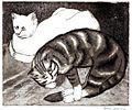 Nina Arbore - Pisici, 1935.jpg