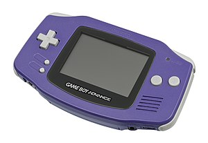 Primeiro modelo do Game Boy Advance