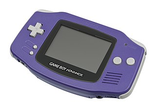 Game Boy Advance Handheld video game console by Nintendo